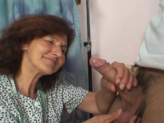 70 years elder woman luvs sucking and riding his young rod