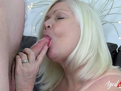 AgedLovE Chesty Lacey Starr Gonzo and Blow-job