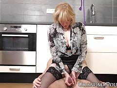 Femdom  ties her stud up before letting him fuck her