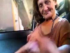 trouser snake sucking granny