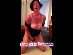 Stroking  granny - women's institute mature is a