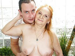 Mature Sexy GILF Marianne Drilled by Young  Therapist