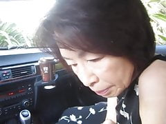 Mature Japanese Car Bj