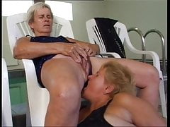 Grandma piss in the mouth of another