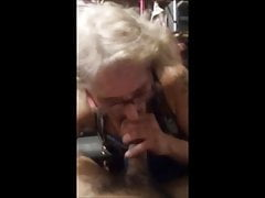 Toothless  with glasses sucking dick and drink