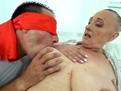 Busty Grandmother Pussy Penetrated
