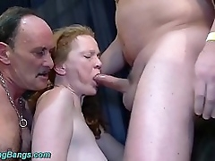 big boob redhead german granny enjoys their way chief resemble groupsex fist increased by be crazy gangbang swinger party orgy