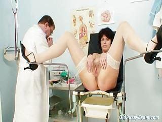 Elder wife weird send back vagina examination