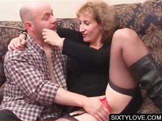 Blonde of age gets cunt teased