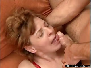 Old dame rides an hard cock round will not hear of part6