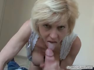 Horny pretty good housewife goes crazy part4