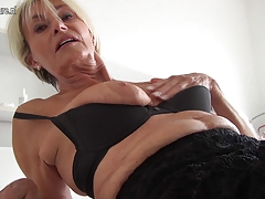 Highly old and incredible Super hot German GILF grandmother