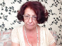 Grandmother with jummy tits 2