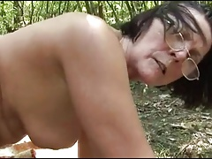 in the woods fucked by a stranger