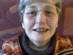 Nerdy Granny Gets a Mouthful of Jizz