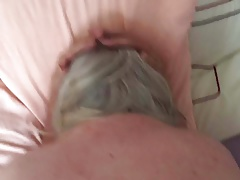 Dirty grannie taking it up the arse