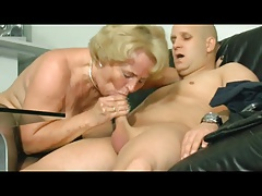 Hot blonde gilf (nipple piercing)