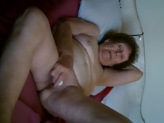 80 Yr Older And Her Vibrator