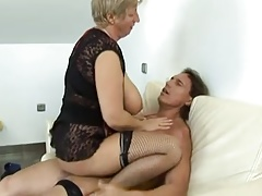 Hot Grannie With Big Boobies Fucked