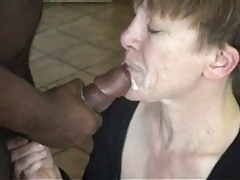 GRANNY DOGGY AND Facial cumshot