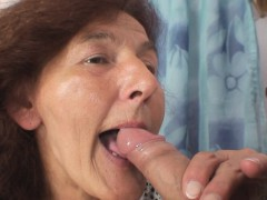 70 years old grannie rails young dick