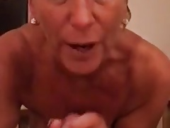 English granny hooker oral job