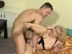 Plumper granny grandma in glasses fuck Sandra from dates25com