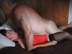 Grandpa and grannie 67 years old - cum inside