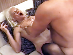 Squirting Granny Takes Raunchy Fucking