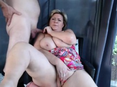 amazing gilf fucking on  older couple fucking cam