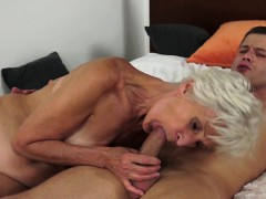 Grandmother  in mouth