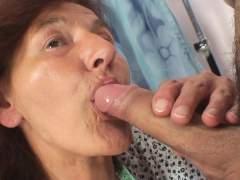 Sewing old granny pleases  guy
