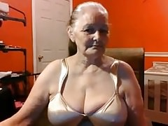 Grandmother 68 years old with big tits