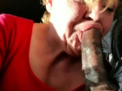 sex for wondrous blonde milf and bbc