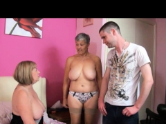 TAC Amateurs presents Grandma Savana and MILF SpeedyBee.