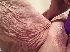 Jism Hoe Masturbating
