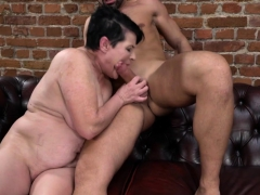 Huge-chested Granny Dolly Bee Fucked Rock-hard