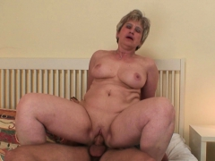 finds old mom and her boyfriend fucking